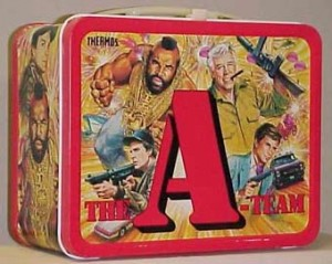 A-Team Lunch Box