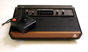 Ah, the veritable Atari 2600, complete with woodgrain accents.